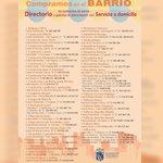 Image for the Tweet beginning: 🥩🥚🧄Compramos en el barrio 🥬🍊🍗 Directorio