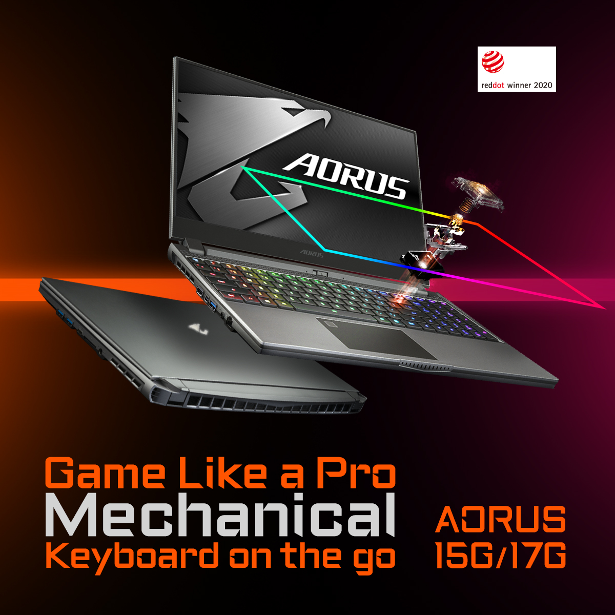 AORUS: Innovative Design X Professional Gaming Laptop  Learn more: AORUS 15G: https://bit.ly/2xqNLa8   AORUS 17G: https://bit.ly/39mzp83   #aorus #aorusgaming #aorus17G #aorus15G #gaminglaptop #pcgaming #pcgamer #gaming #laptoppic.twitter.com/xxFc3uS5Z3