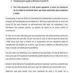 Image for the Tweet beginning: Mi aplauso al @CNFuenlabrada por