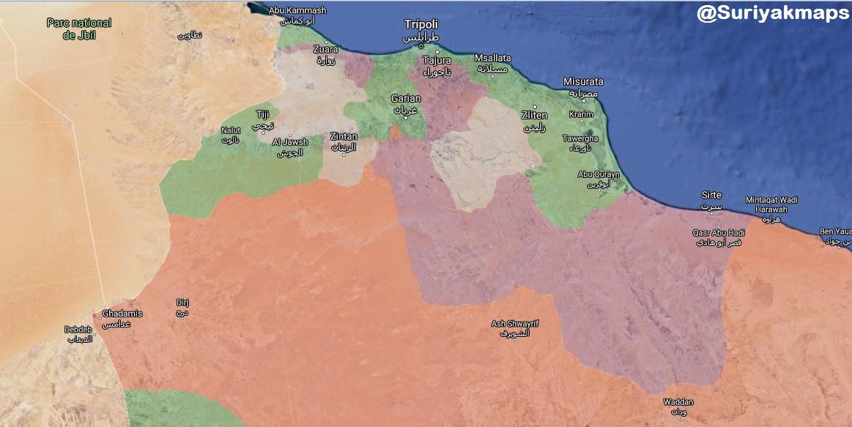 Год назад начался штурм Триполи