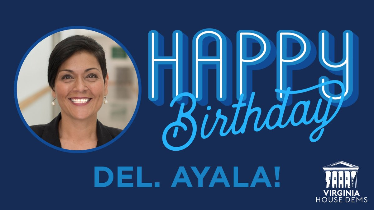 Please join us in wishing Delegate @HalaAyala a wonderful birthday!