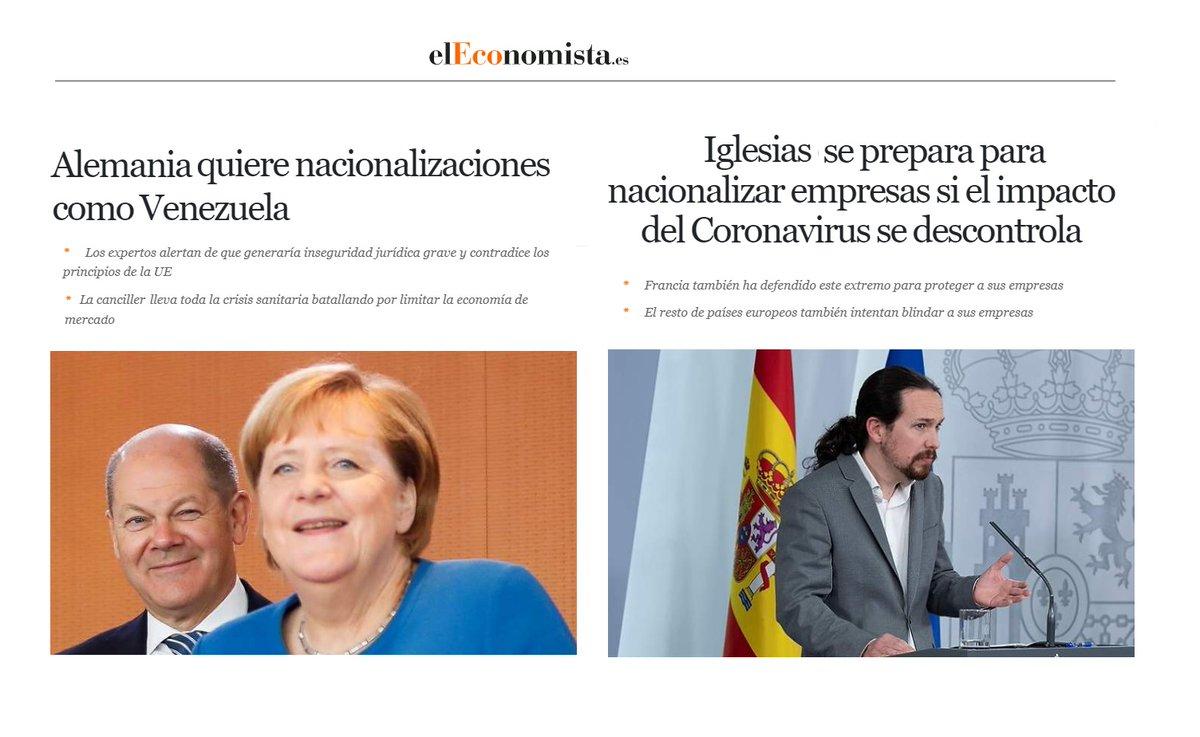 """Hola, @elEconomistaes . He intercambiado""""Merkel"""" por """"Iglesias"""" en dos noticias vuestras"""
