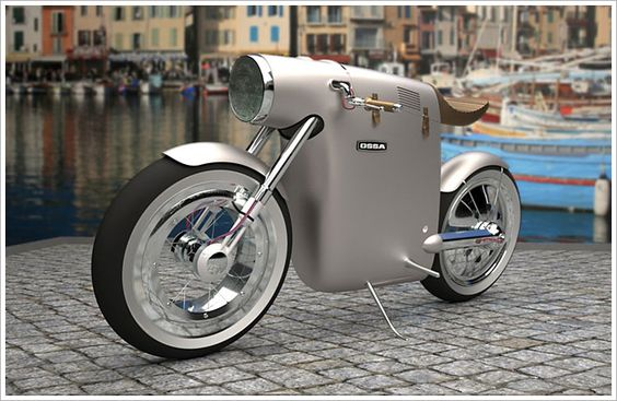 Find something as #quirky with 2 #wheels; the #Monocasco #motorbike  by #ArtTic #Design of #Barcelona pic.twitter.com/gLcD7j5kIO