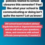 Image for the Tweet beginning: Students: DM @CMSboard student advisor