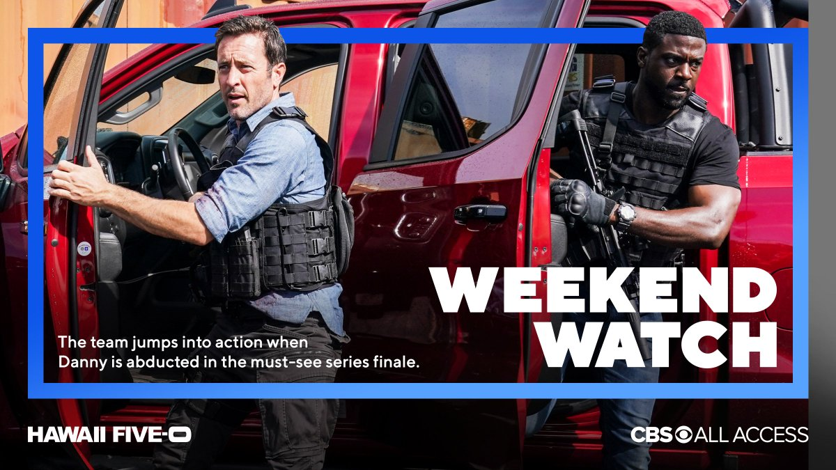 Your weekend plans are here! 🔸 Share one last aloha @HawaiiFive0CBS 🔸 The tribes merge on @SurvivorCBS: Winners At War 🔸 New series #Broke premieres 🔸 @ManWithAPlan returns for season 4 Now streaming on #CBSAllAccess: bit.ly/WatchCBSAA