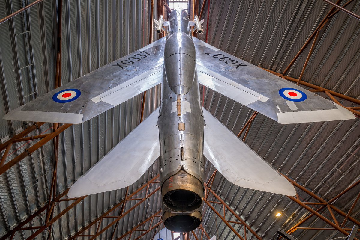 Top story today: @RAFMUSEUM: '#OnThisDay in 1957 : the first flight of the English Electric P.1B, better known as the Lightning. It was derived from the P.1 test model which is now on display in Cosford. It was able to … , see more http://tweetedtimes.com/v/22039?s=tnp