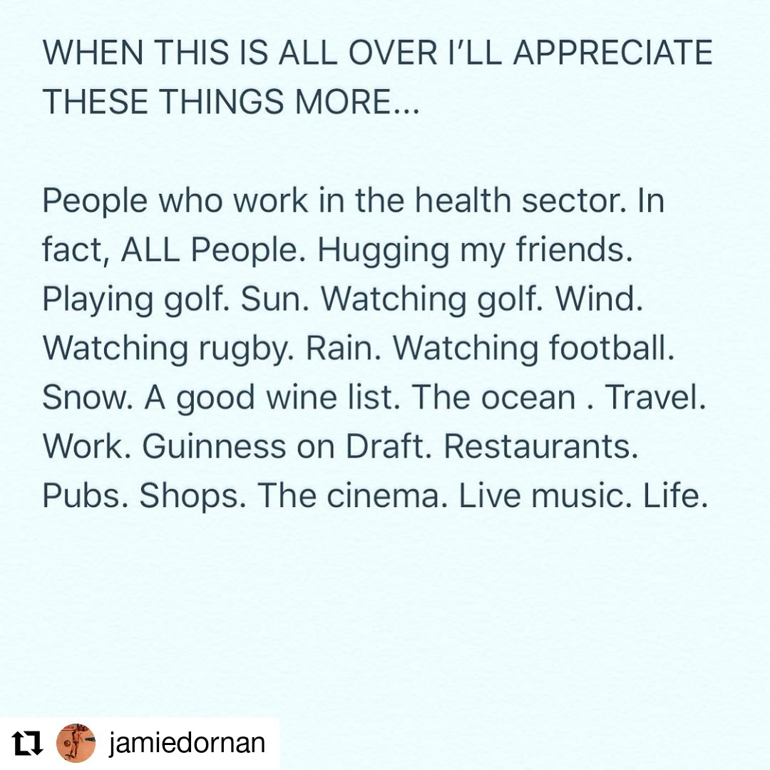 #Repost #JamieDornan on IG • • • • • • What will you appreciate?