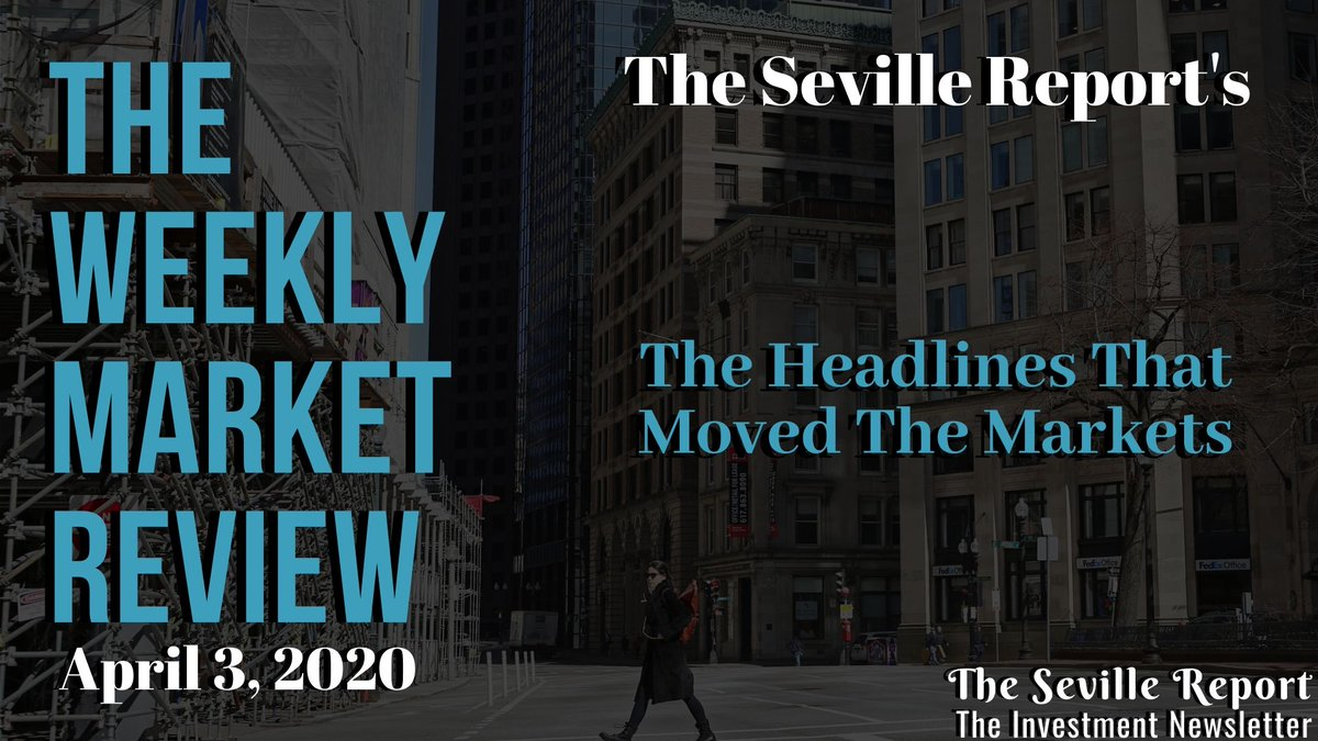 The Weekly Market Review | April 3, 2020 | $JNJ $ABT $ZM $LK  http://youtu.be/3mMU5au_WUc   | #Investing  #WallStreet  #News