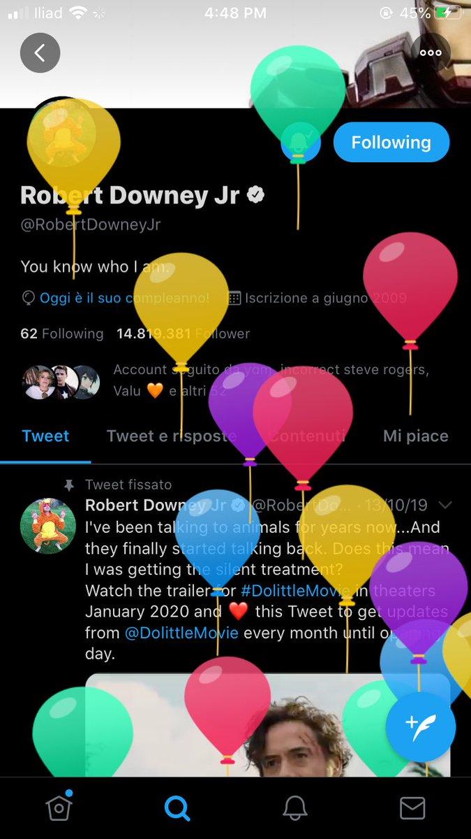 #HappyBirthdayRobertDowneyJr