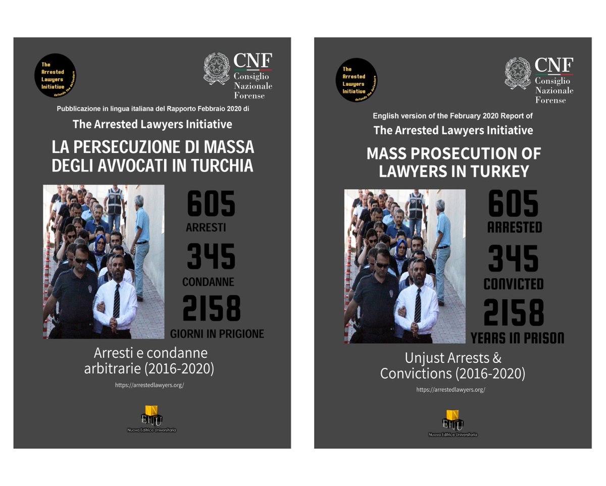 Joint Report with the Italian National Bar Council @CNF_it arrestedlawyers.org/2020/04/04/joi…