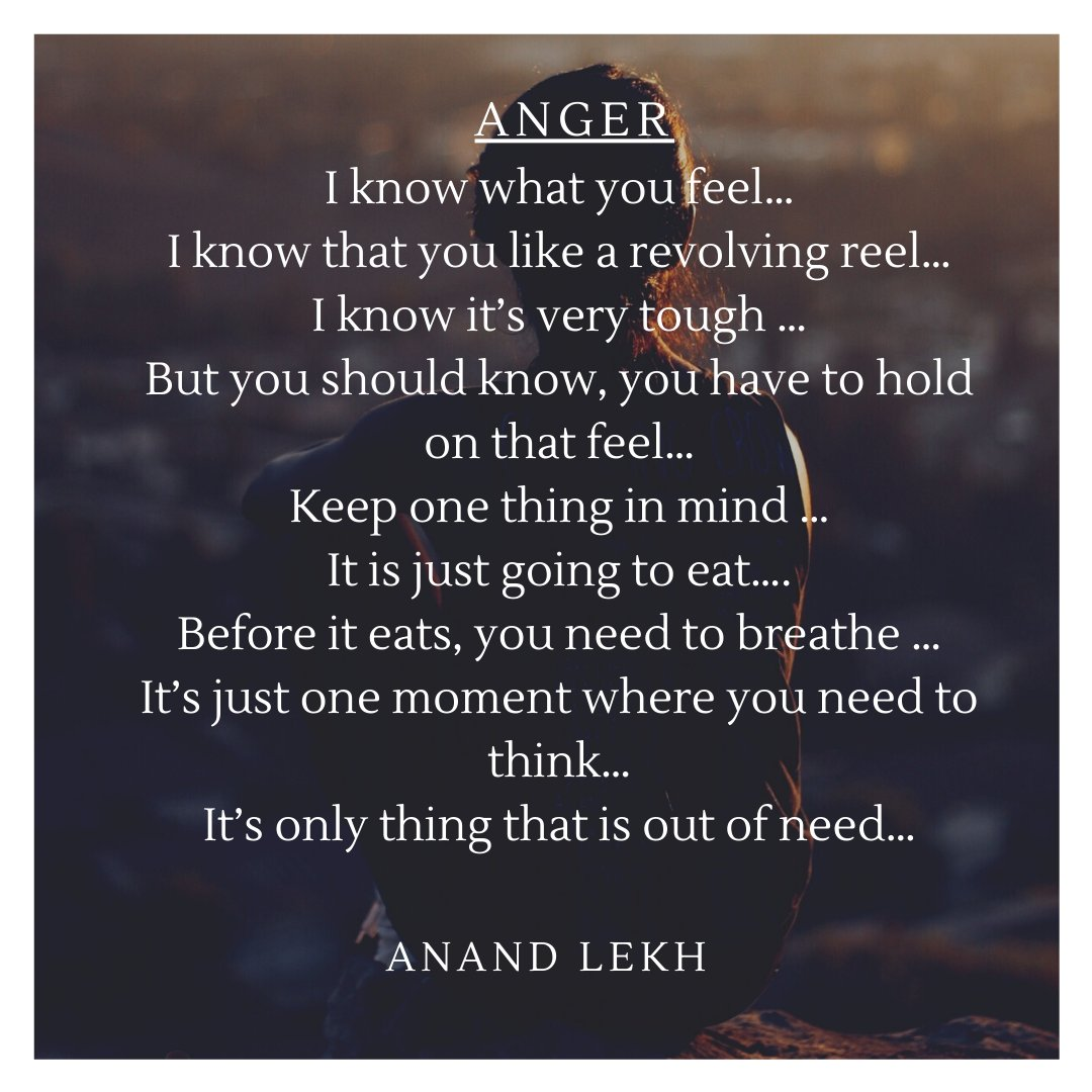 This is something i have tried to control my anger.... #anger #angry #grief #griefsupport #griefquotes #angermanagement #anxiety #boysdontcry #cry #feel #feelings #emotional #survivor #mindfulness #emotionalintelligence #emotion #emotionalabuse #strongwomen #triggered #trauma  🙂