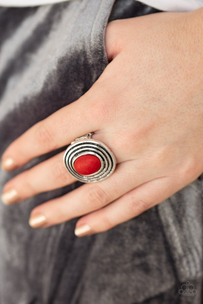 💎You won't believe this! Paparazzi Spiraling Sands - Red Ring is only $5.00💎   ⏩    #jewelryfashion #jewelrytrends #5dollarbling