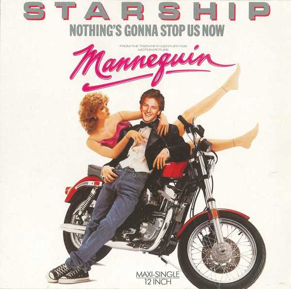 """""""Nothing's Gonna Stop Us Now"""" by Starship hit #1 on the Billboard charts today in 1987. The single was featured as the theme to the romantic comedy film """"Mannequin"""". #80s #80smusic #80smovies pic.twitter.com/rYZGFGrO9i"""