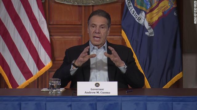 New York Gov. Andrew Cuomo says his state will receive 1,000 ventilators from China and 140 from Oregon. Follow live updates:  https://cnn.it/2RcZjEZ