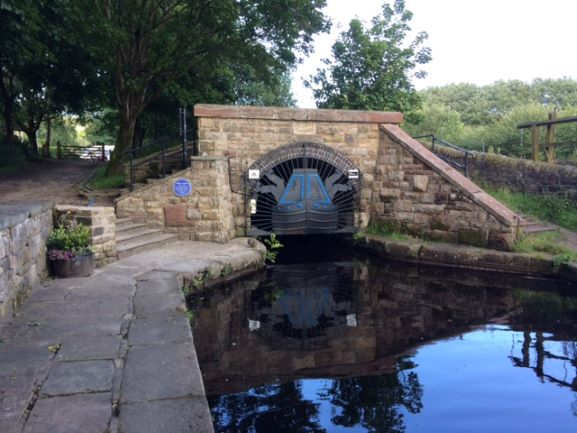 The Huddersfield Narrow Canal through Standedge Tunnel opened #onthisday 1811. It is the highest canal in the UK at its summit and has 74 locks.  Find out more about how it was built and how it has been reopened  https://bit.ly/2WIpML9  https://bit.ly/2VndmYK
