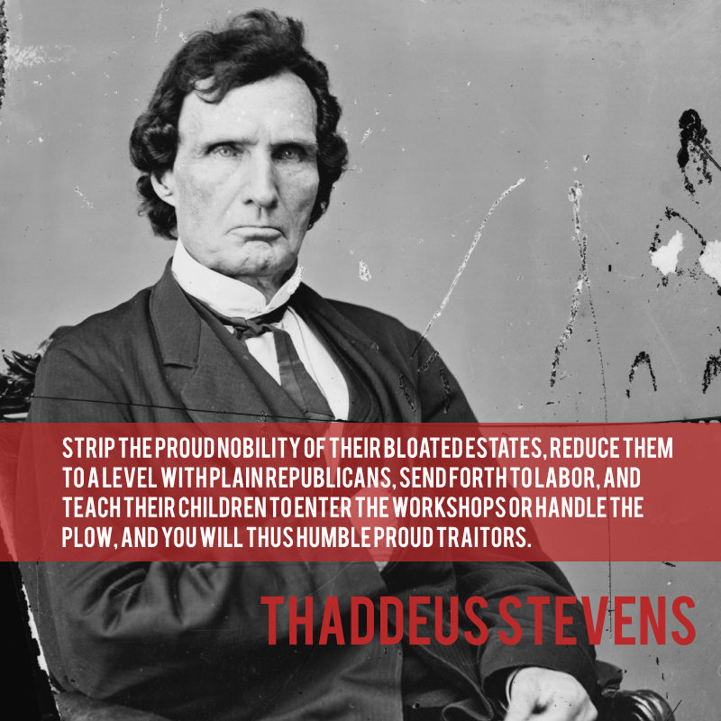 Today in history: April 4, 1792 - Thaddeus Stevens born. Stevens was a fierce abolitionist who devoted his life to abolishing #slavery in the U.S. #CivilWar #AbolitionMovement #Radical #OnThisDay #TodayInHistory