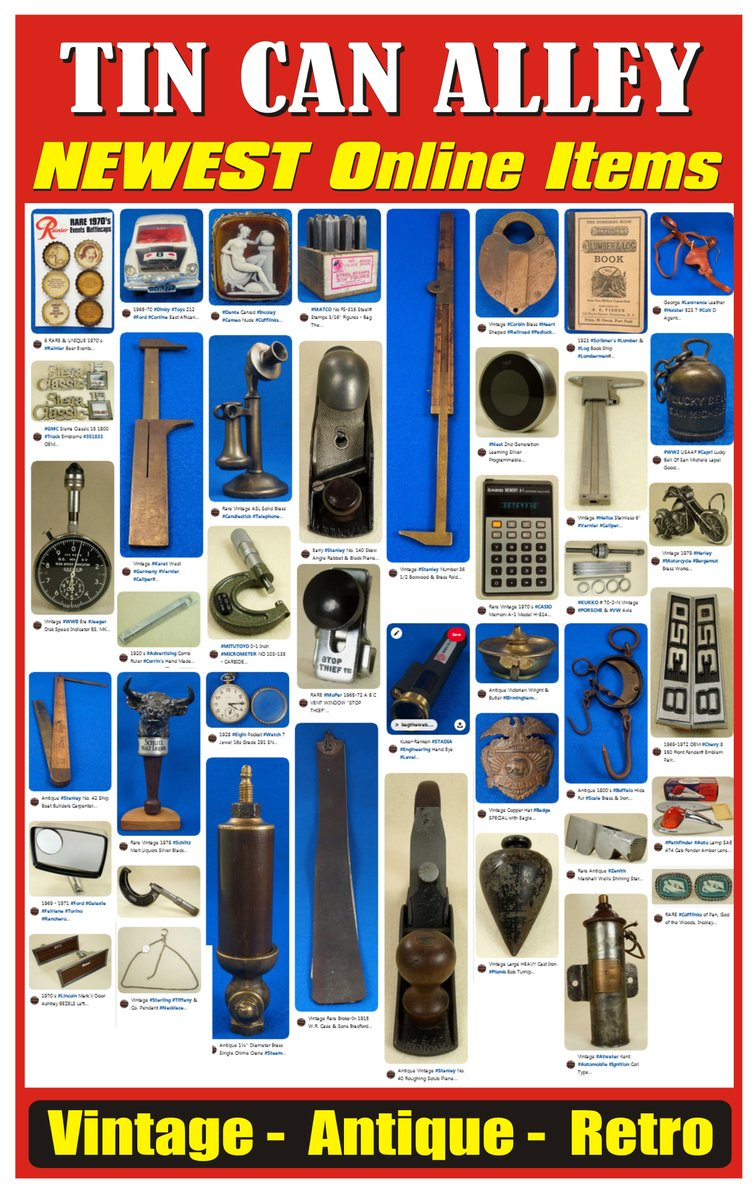 Tin Can Alley On Twitter Over 40 New Items Have Been Added To The Tin Can Alley Ebay Page Https T Co 0ebu75psya Note Ebay Items With Bids Can Only Be Sold Through Ebay Buy