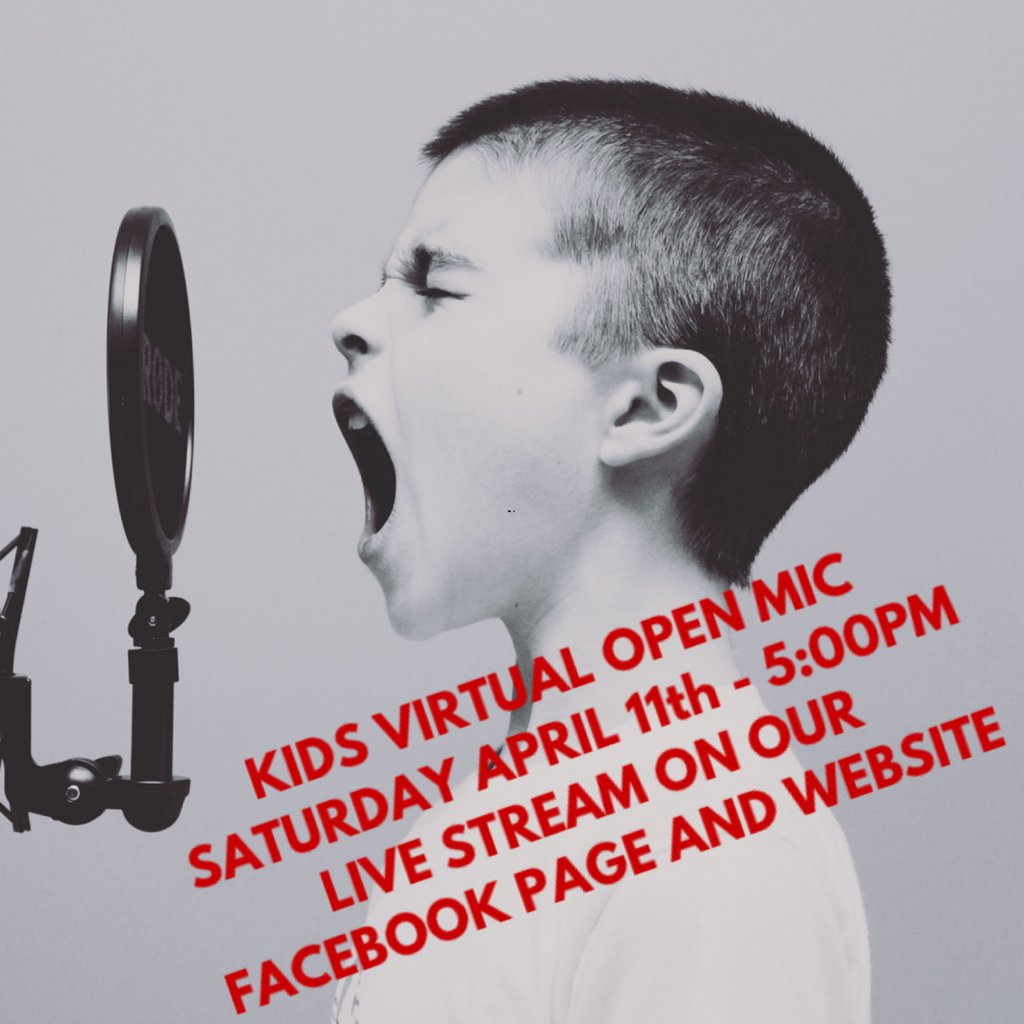 KIDS VIRTUAL OPEN MIC - SAT APRIL 11TH @ 5PM. Dear parents of Scarboro Music students - get your videos in to us of our kids performing for the #livestream #openmic on our Facebook page and website.  Grab some food, sit back and enjoy the show! #wearemusic #stayhome #musicmatters<br>http://pic.twitter.com/TRaYpklwSU