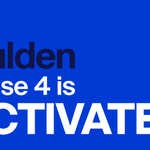 Image for the Tweet beginning: Gulden PoW² Phase 4 is