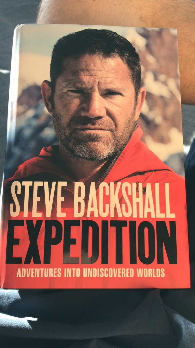 #lockdown - perfect opportunity to crack out this beauty from @SteveBackshall This is definitely the 'rainy' day I've been saving it for! #expedition #undiscoveredworlds