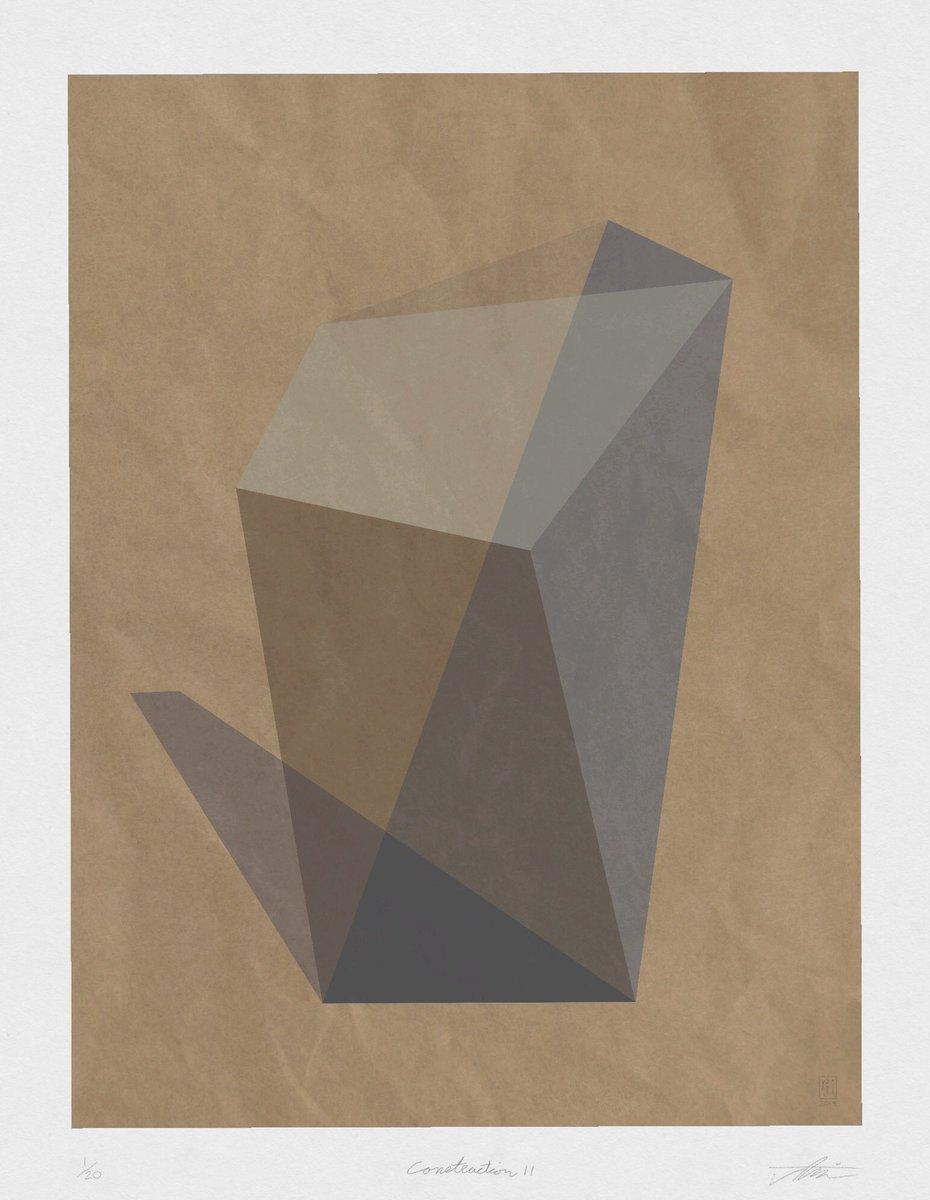 Construction #01  Limited Edition of 20. Digital Composite. 32x 24inches.  Link in bio. . . . #Constructivism #suprematism #minimalism #modernism #bauhaus #midcenturyart #midcenturymodern #hardedgepainting #digitalart #digitalcomposit #workonpaper #geom… http://ift.tt/2UxoWmspic.twitter.com/2Listv2xVj