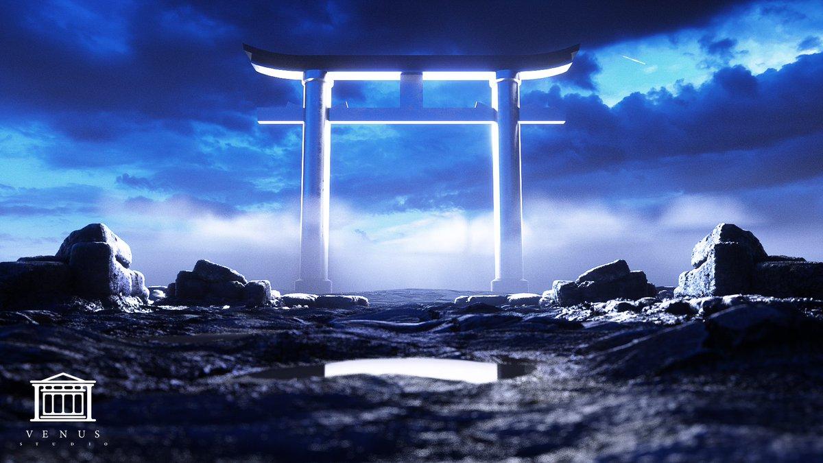 The heaven gate. #Cinema4d #Octane #Creative  𝗙𝗲𝗲𝗱𝗯𝗮𝗰𝗸 𝗮𝗽𝗽𝗿𝗲𝗰𝗶𝗮𝘁𝗲𝗱 @VenusStudio99pic.twitter.com/ucH3VYjN9A