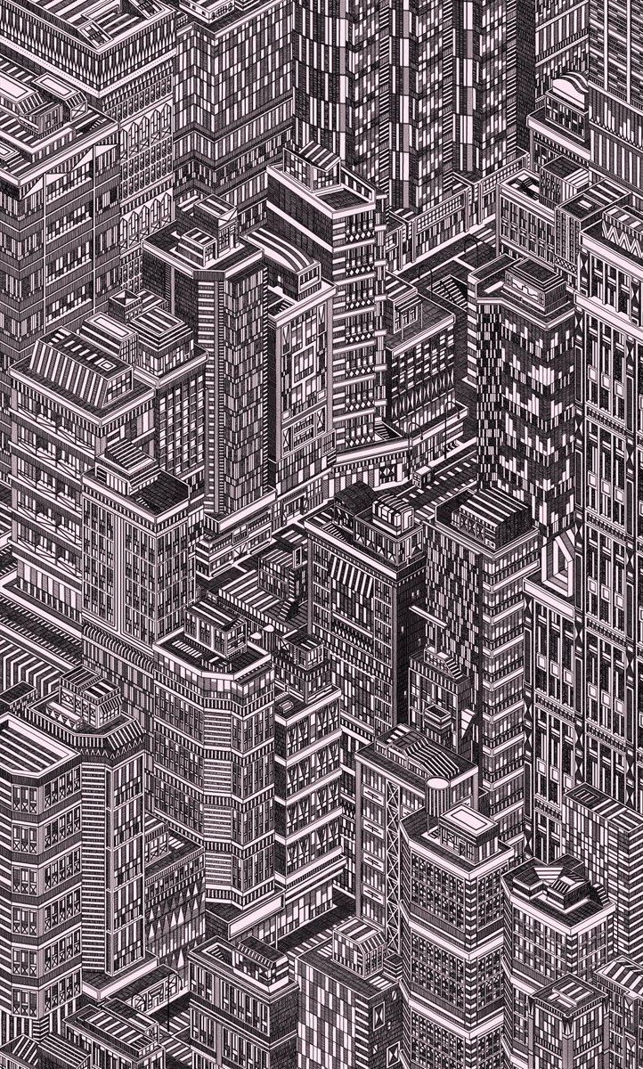 Think I'm there. Expand for the full piece, not sure how Twitter will crop this! #illustration #architecture pic.twitter.com/jWJMfFJdvb