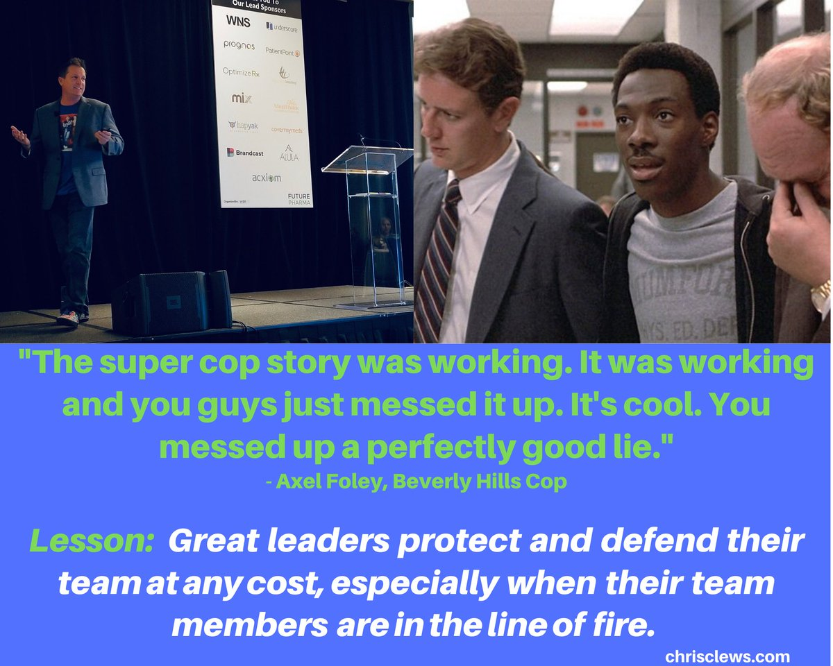 Great #leaders protect their team at any cost.    Axel Foley knew this and he was the master at it.   #leadership #teamwork #protectyourteam #greatleadership #leadershipmatters #lead #workplaceculture #workplace #80smovies #80s #axelfoley #80spopculture #washyourhandspic.twitter.com/W188McJ4EW