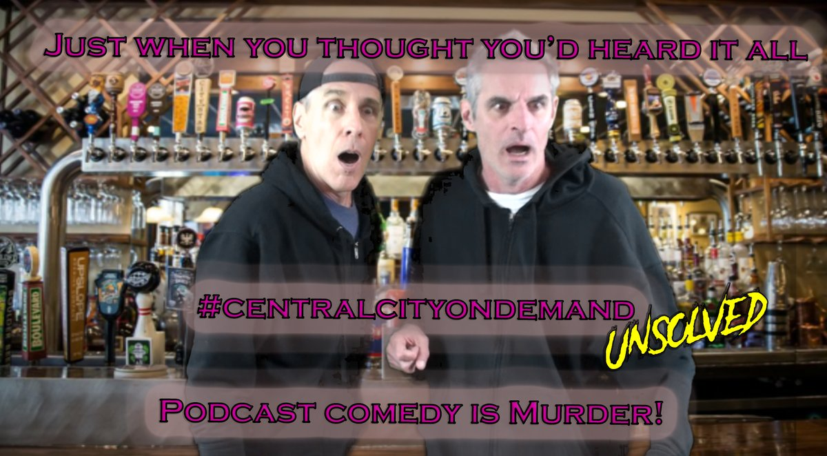 Quarantine Comedy can help. Join Buddy and RJ on their first murder investigation. Season 2 Free everywhere and http://centralcityondemand.com #comedy #centralcityondemand #podcast #comedypodcast #podcastsuggestions #podcastrecommendations #funnypodcasts #murdermystery #comedycrimepic.twitter.com/9xflawforF