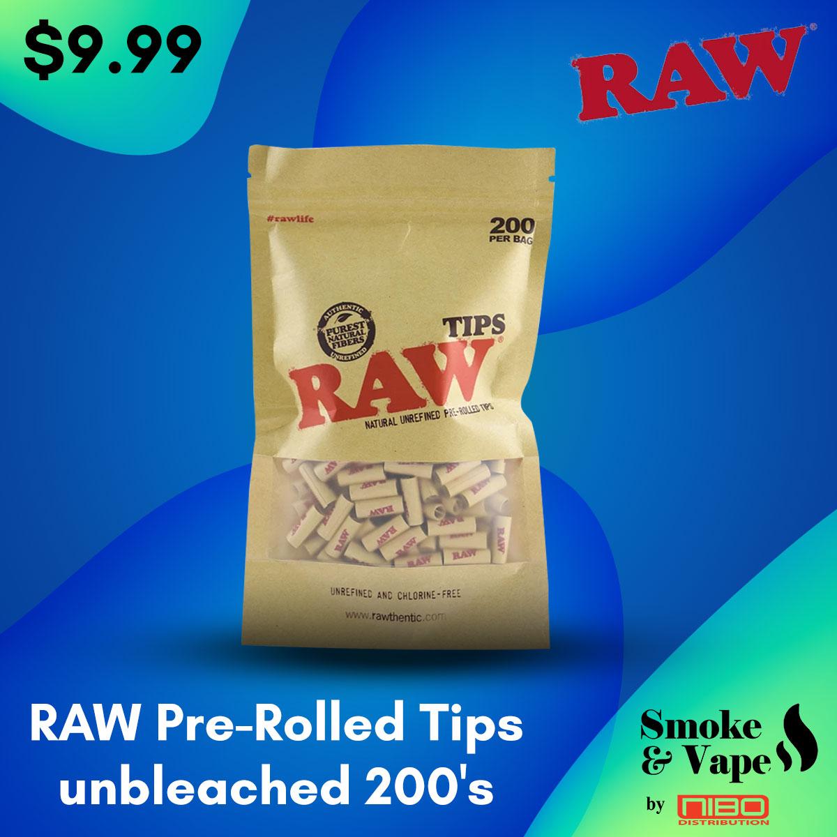 RAW Pre-Rolled Tips unbleached 200's  https://t.co/mLzavAMmvi  #prerolledraw #RawTubes #raw_rolling #tray #rawtray #smokeVape #smoking_accessory #rawtraymini #mini #mini_tray #canada #smoking #vaping #smokefans #vape #toronto_smoke_accessory https://t.co/ZOm9TzIAqM