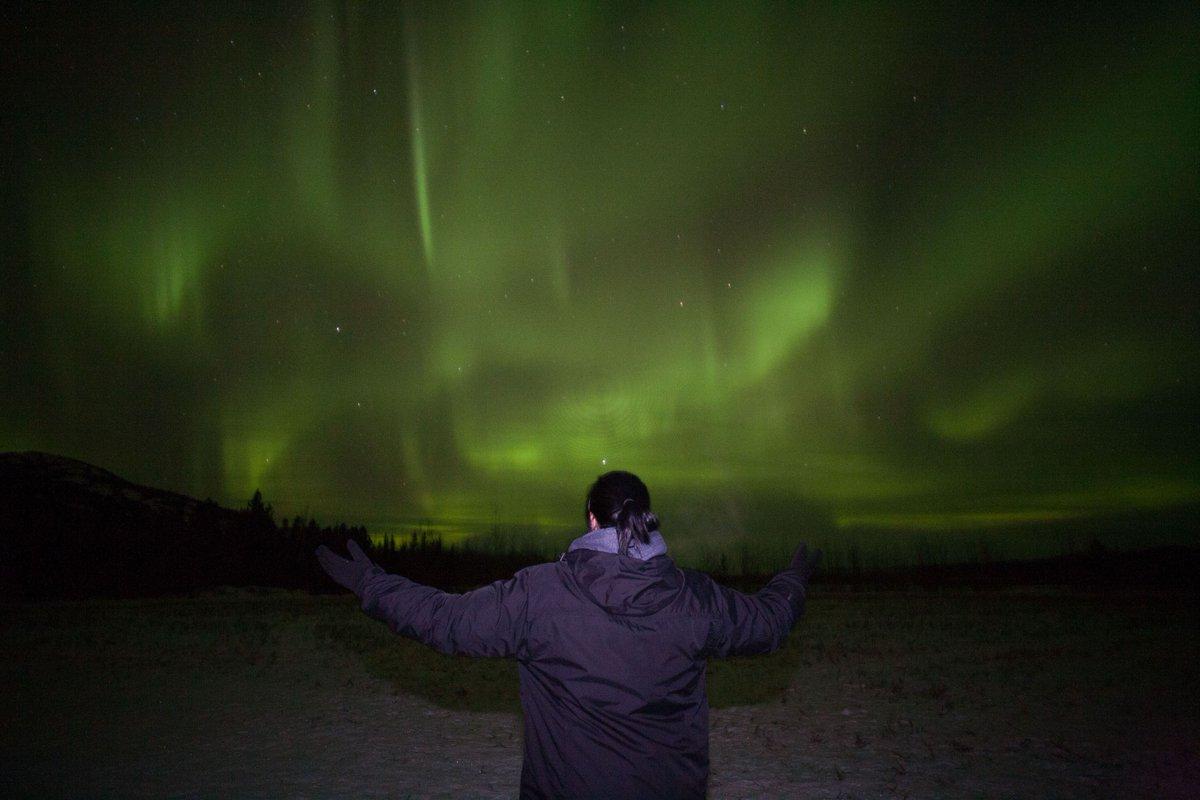 RT @YukonAurora: Conductor of the northern lights. #ExploreYukon #northernlights #auroraborealis https://t.co/8MtPNHeQZi