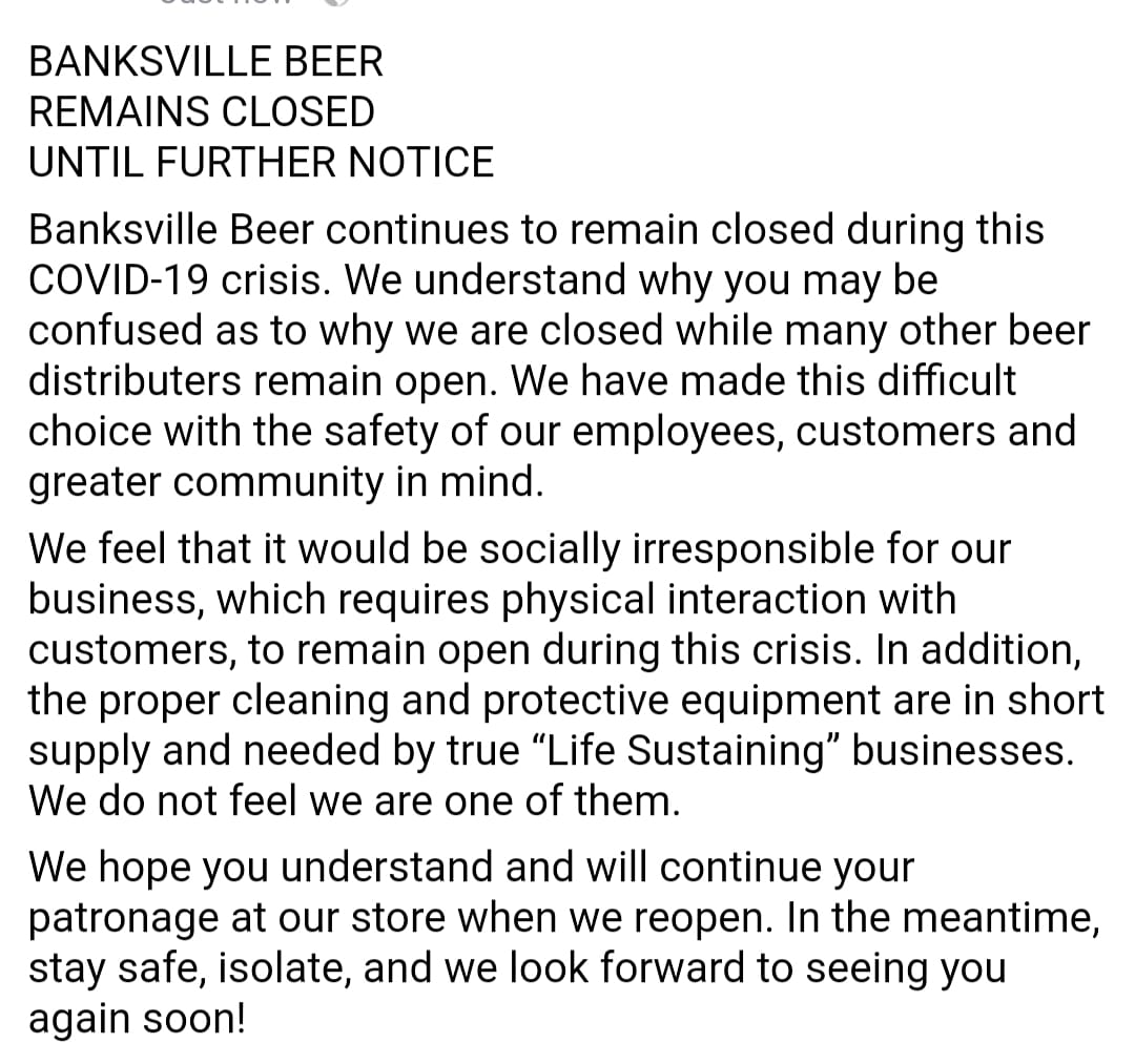 BanksvilleBeer photo
