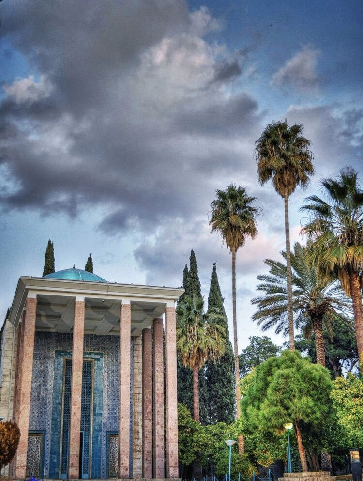 Tomb of Sa'adi or Sa'diyeh is one of the main attractions of the city of Shiraz. The mausoleum of Saadi is on every tourist's must see places list when travelling to Iran. #tourism #trip #travel #culture #culturaltour #culturaltourism #heritagetourism #heritage #culturalheritagepic.twitter.com/dNn24fvZb0