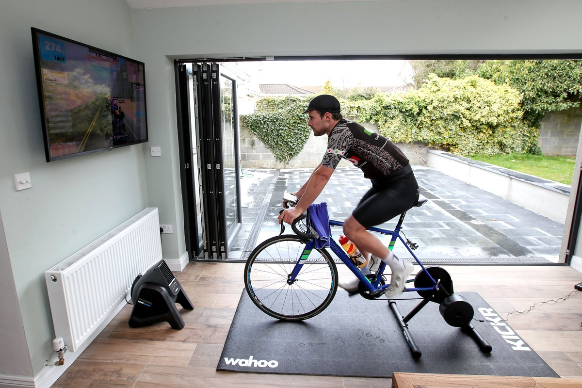 Thanks to everyone who lined up for the Cycling Ireland Zwift League race this morning. With almost 900 people registered, you helped to make it the largest sporting event in the country this weekend 🙌 See you again next Saturday for round 3!