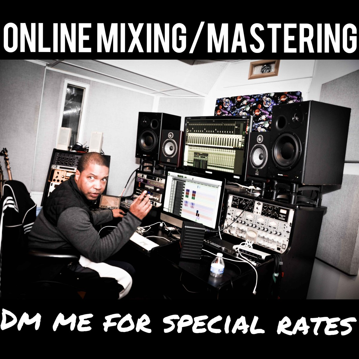 Get your music to sound the way you always intended to. Take advantage of our Online Mixing/Mastering Special.   Go here: http://bit.ly/krushstudios  #mixing #mastering pic.twitter.com/KNXQUB2AIi