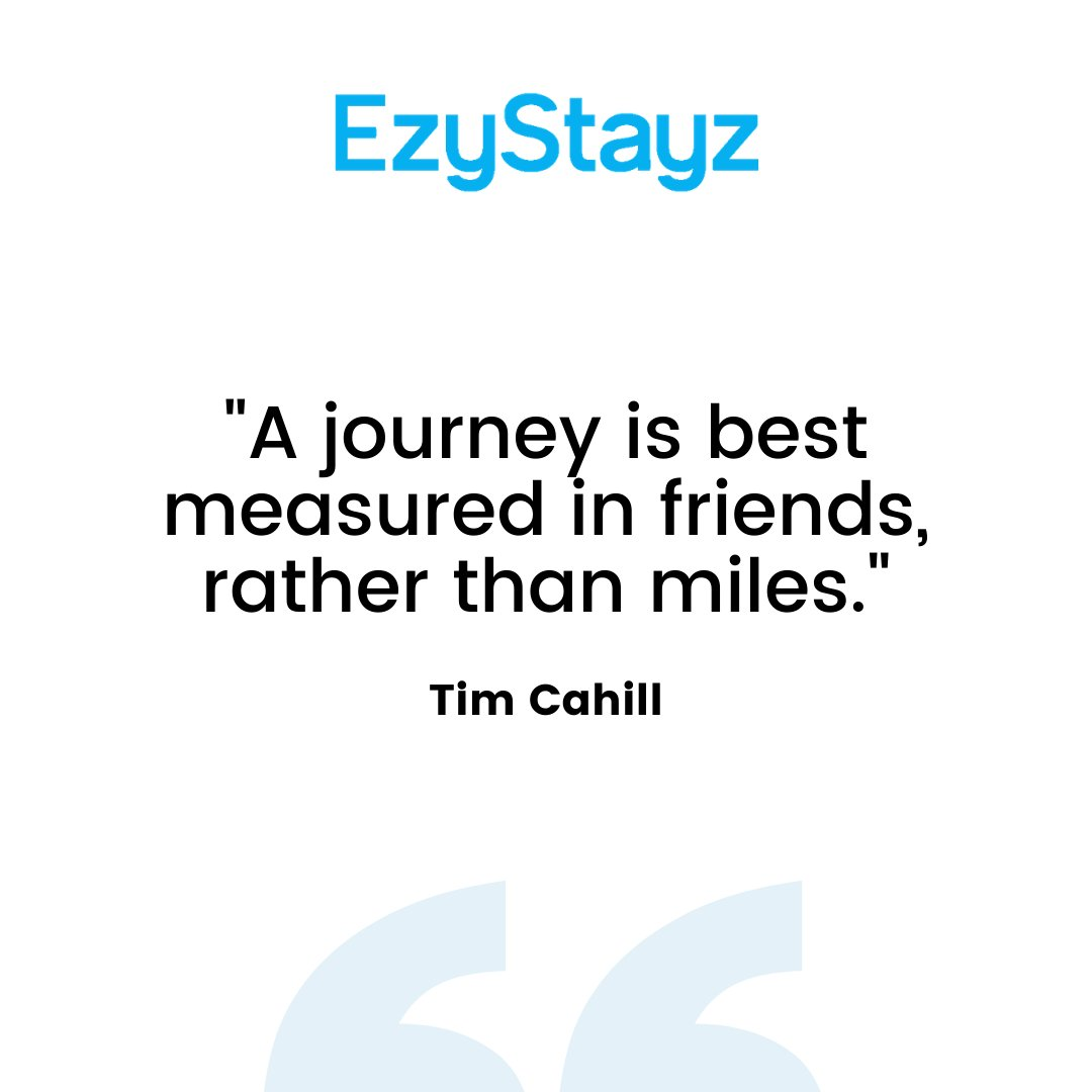 🗺️Beside all the adventures and memories, meeting new people and making friends from around the world is what makes traveling so much fun.   #EzyStayz #wanderlust #travelgram #adventure #Friends #Adventures #Exploring