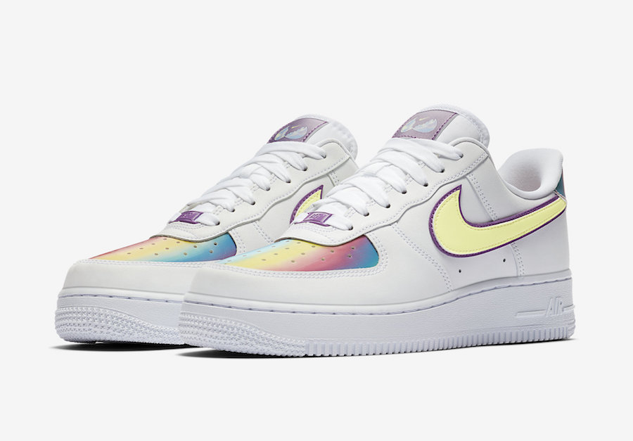 "Nike Air Force 1 Low ""Easter 2020? => https://bit.ly/2VbfzaXpic.twitter.com/XSApfiPBPh"