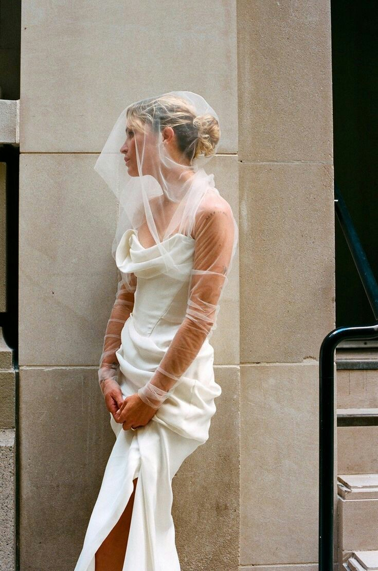 Juju On Twitter Erin Wasson S Vivienne Westwood Wedding Dress