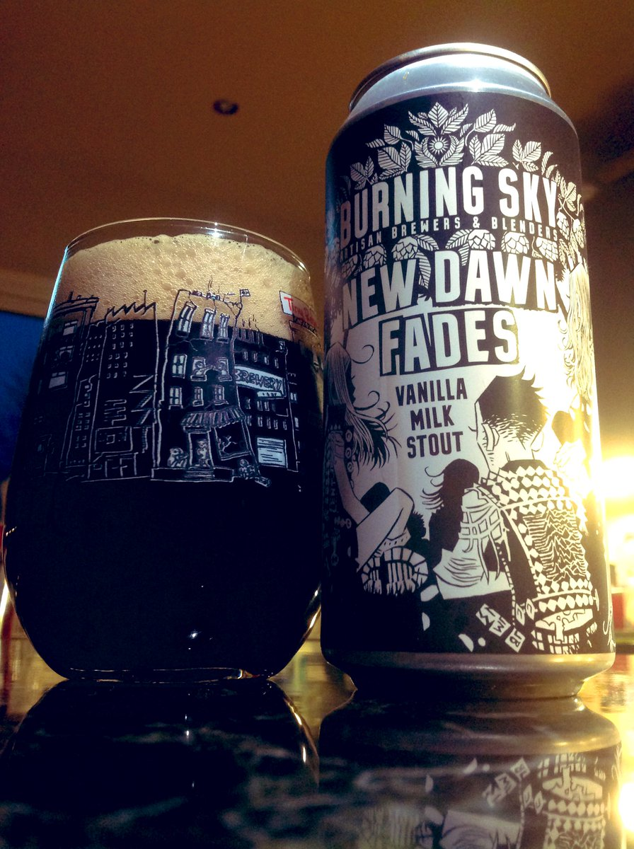 Another beer from my hubby this is lovely #craftbeer  pic.twitter.com/7dIgrOdz8q