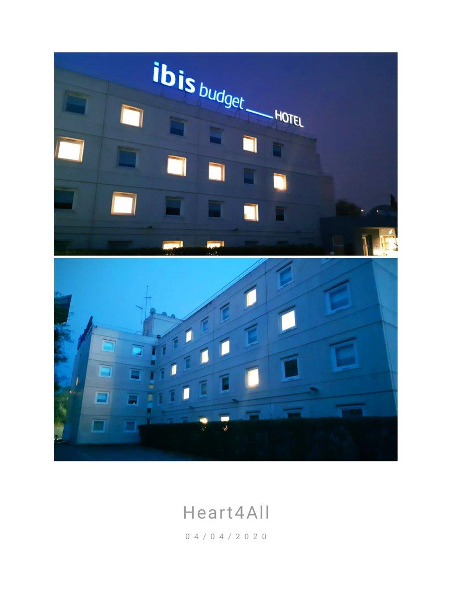 En el hotel ibis de Alcorcón-Móstoles nos sumanos a la campaña #heart4all : fachadas con corazones  iluminados en diferentes hoteles del mundo impulsada por la cadena #Accor para promover un gesto de unión y esperanza en medio del combate contra el virus #COVID19 #TodoSaldráBien https://t.co/rVS4j3mNgX