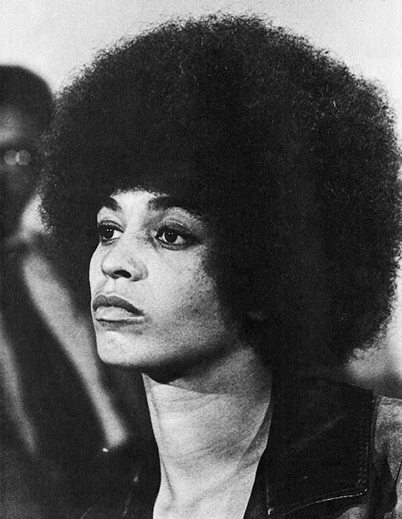 """""""The idea of freedom is inspiring. But what does it mean? If you are free in a political sense but have no food, what's that? The freedom to starve?"""" Angela Davis <br>http://pic.twitter.com/YXcsAjyGYx"""