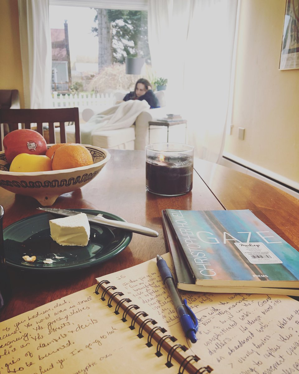 Poems, cheese, coffee, my beautiful friend reading in the morning light. Things almost feel normal. #goodmorning  #morning  #poems  #coffee  #quarantine  #quarantinelife  #almostnormal