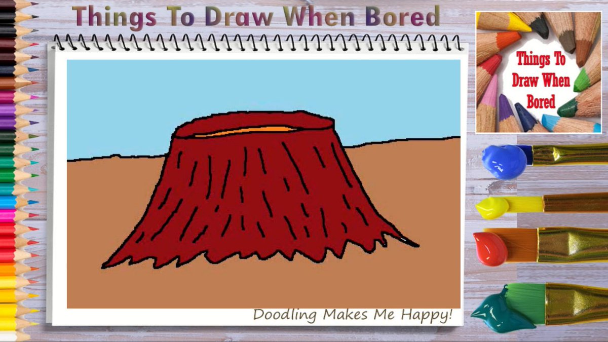 How To Draw A Crater ( Things To Draw When Bored )  Let's Draw A Crater Today! https://youtu.be/QNZBs2ZXyRg   #crater #volcano #craters #volcanos #doodle #doodles #cartoon #drawingaday #drawingdaily #drawingeveryday #artoftheday #drawing #bored #anxiety #depression #therapy #arttherapypic.twitter.com/aaCDs4F9DR
