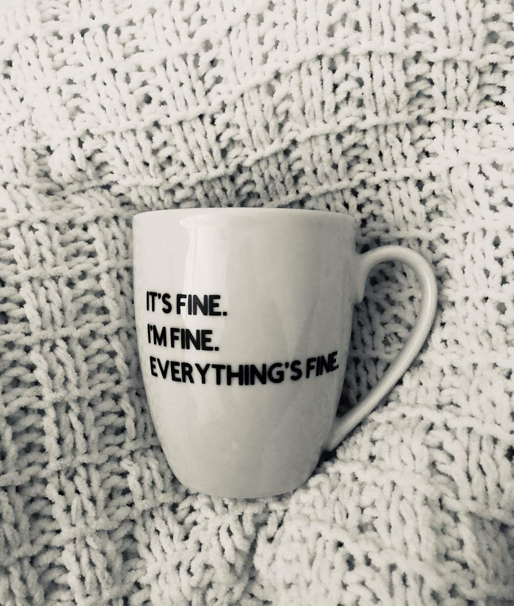 Excited to share the latest addition to my #etsy  shop: Its fine mug | Everyday mug | gift/self love | Coffee mug  https://etsy.me/2V59X1N   #housewares  #white  #yes  #black  #ceramic  #mug  #coffee  #funny  #cup