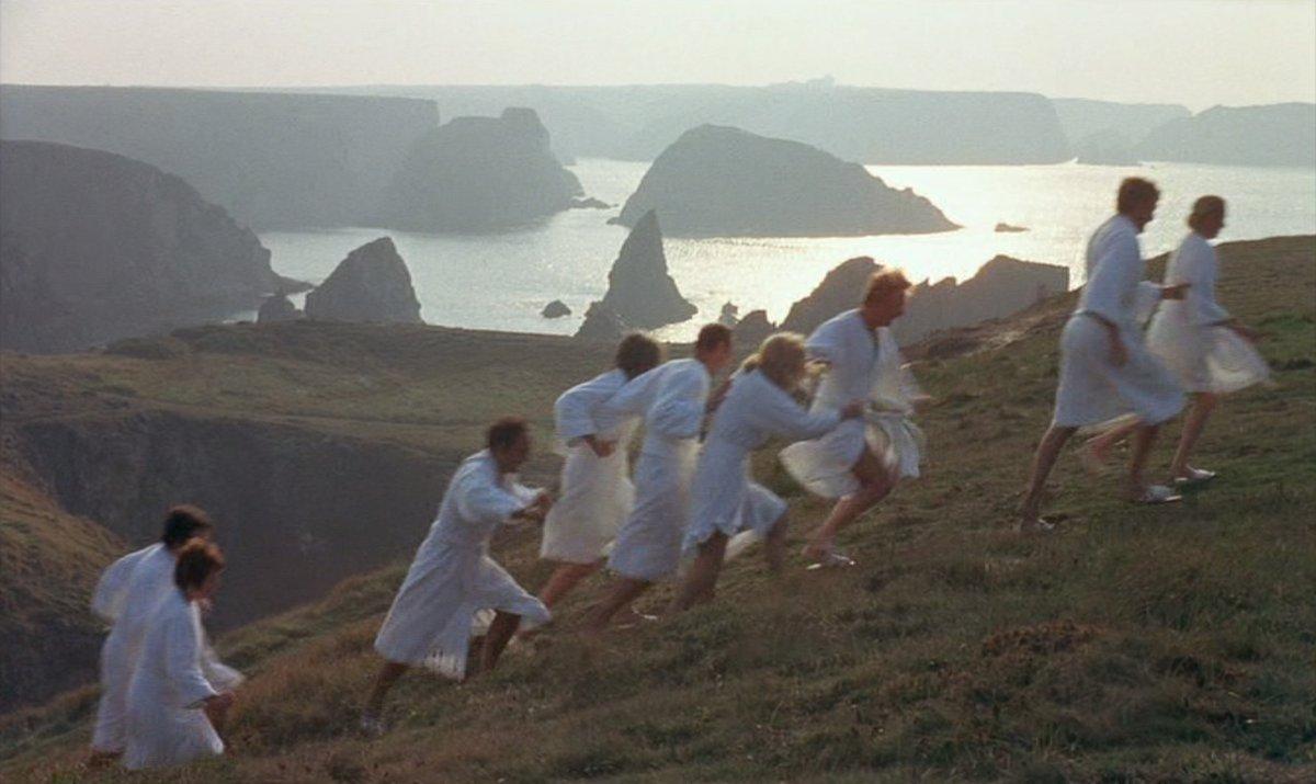 "Richard🔥Wells on Twitter: ""Film time! Revisited Alain Jessua's SHOCK  TREATMENT (1973). Alain Delon is the Bond villain like head of an exclusive  health spa with *a dark secret*. Enjoyable schlock with social"
