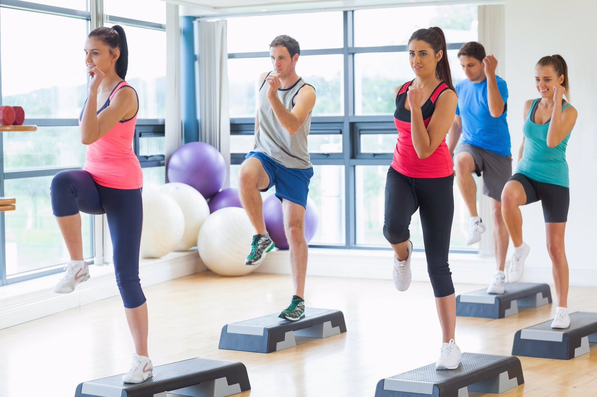 If you want to lower your blood pressure or cholesterol, the American Heart Association recommends an average of 40 minutes of moderate-to vigorous-intensity aerobic activity 3 or 4 times per week. #fitness  #healthy  #healthylifestyle
