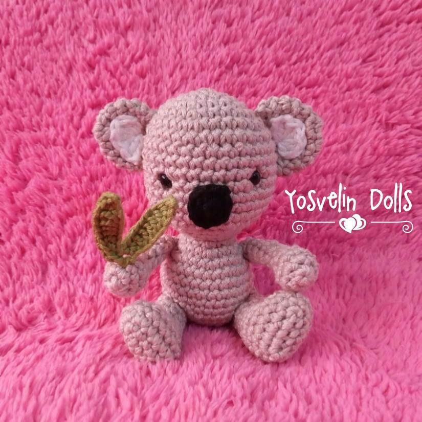 PATTERN: Crochet koala pattern - amigurumi koala pattern - koala ... | 825x825