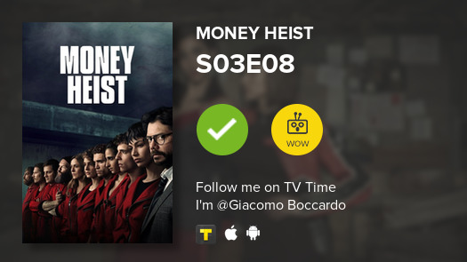 test Twitter Media - I've just watched episode S03E08 of Money Heist! #lacasadepapel  #tvtime https://t.co/T0bjGjfiUI https://t.co/1ERicecqJQ