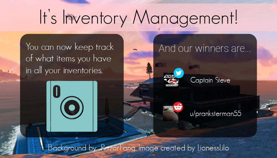 The new feature is Inventory management! 🎉