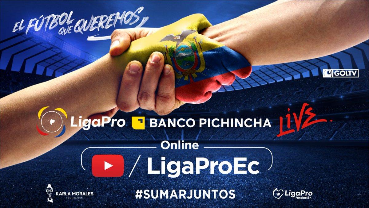 LigaPro Banco Pichincha LIVE   https://t.co/RnYEkTqcbr https://t.co/1g7KTAO2Ub